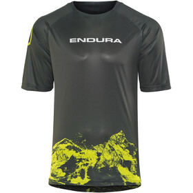 Endura SingleTrack Print LTD Short Sleeve Jersey Men khaki